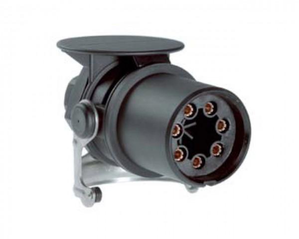 EBS-Stecker 7-polig - 24 V - ISO 7638 - PG-Verschraubung