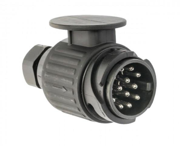 Stecker 13-polig - ISO 11446 - mit Schraubkontakten