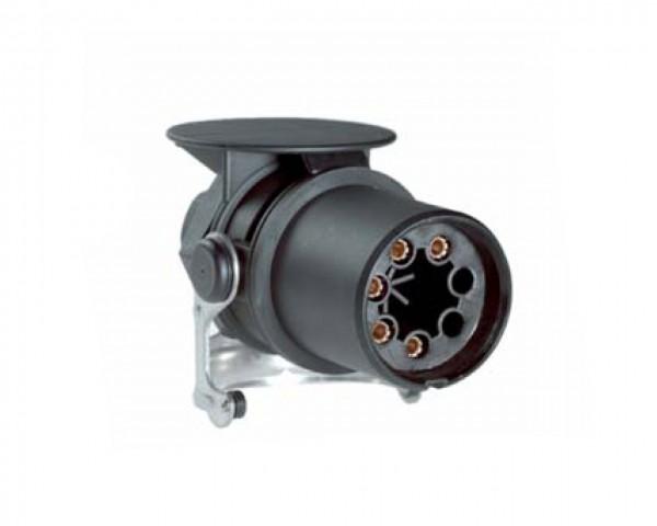 ABS-Stecker 5-polig - 24 V - ISO 7638 - PG-Verschraubung