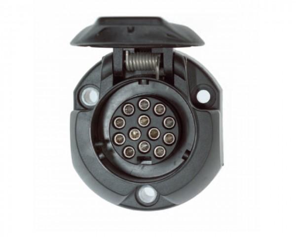 Steckdose 13-polig - ISO 11446 - mit Schraubkontakten